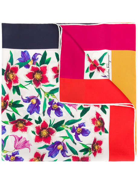 Salvatore Ferragamo women scarf floral silk