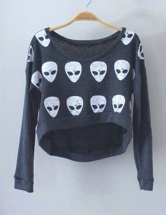 blouse skull t-shirt