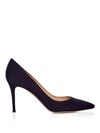 suede pumps pumps suede navy shoes