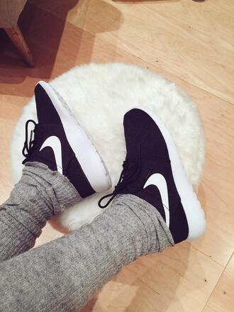 shoes nike mylifeaseva black and white black and white sneakers sneakers nike sneakers