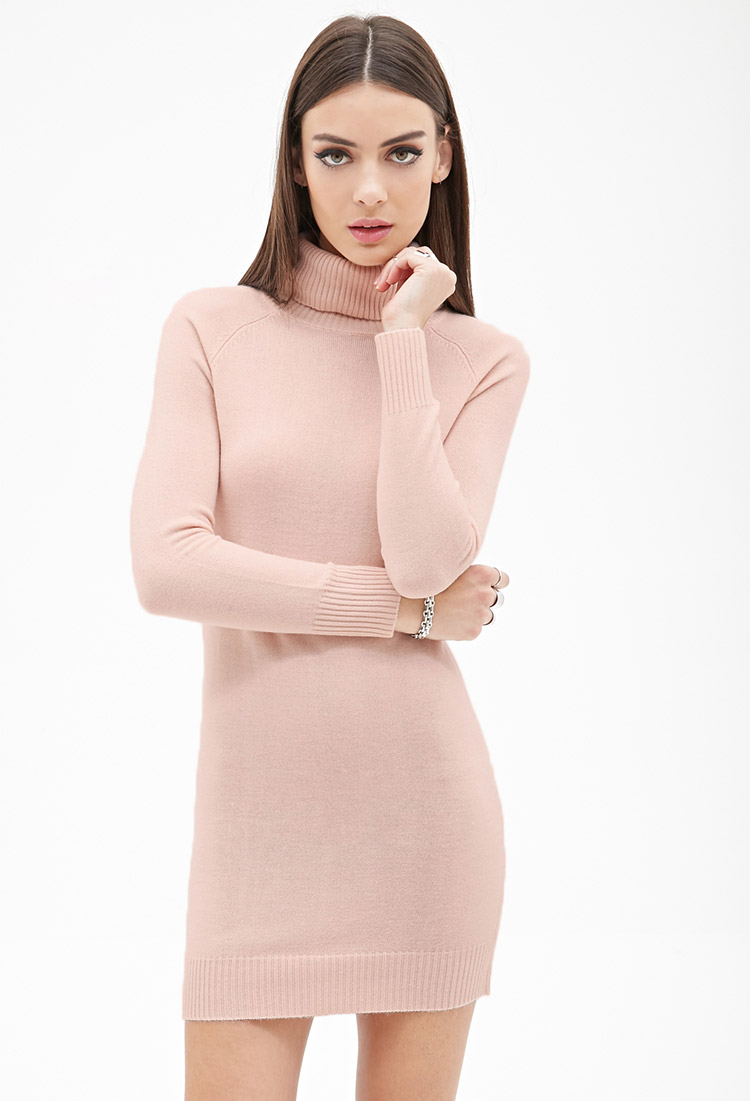 21 Turtleneck Sweater Dress