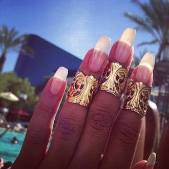 jewels rings nails beaty