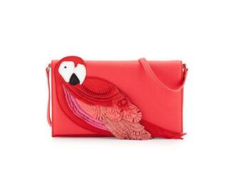bag red bag red crossbody bag kate spade parrot crossbody bag