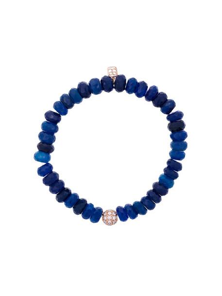 sydney evan beaded bracelet rose gold rose women ball beaded gold blue jewels