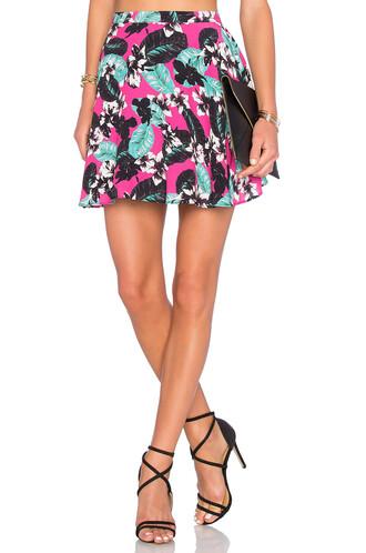 skirt hot pink