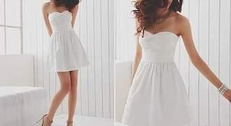 dress white white clothes white dress brunette body legs love fashion moda jewelry