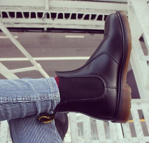 black tumblr girl tumblr shoes boots cool ankle booties shoes black wedges pretty