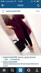 coat,burgundy,beautiful,classy,red,jacket