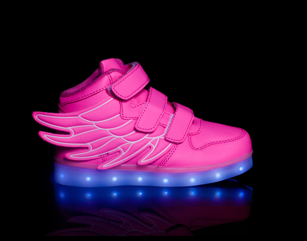 light up shoes led shoes Super Pegasus-Pink
