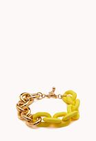 Bright Thing LInk Bracelet | FOREVER21 - 1000129333