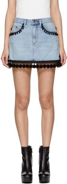 Marc Jacobs miniskirt denim skirt