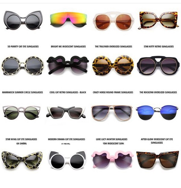 Cat Eye Round Cutout Trimmed Frames Style Women Sunglasses GOLD Metal
