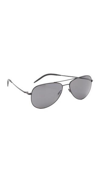matte sunglasses aviator sunglasses black matte black