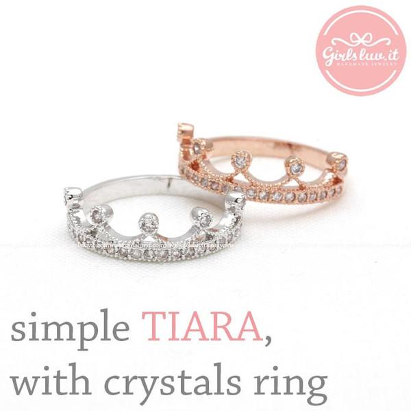 jewels jewelry ring tiara tiara ring princess ring crown ring wedding