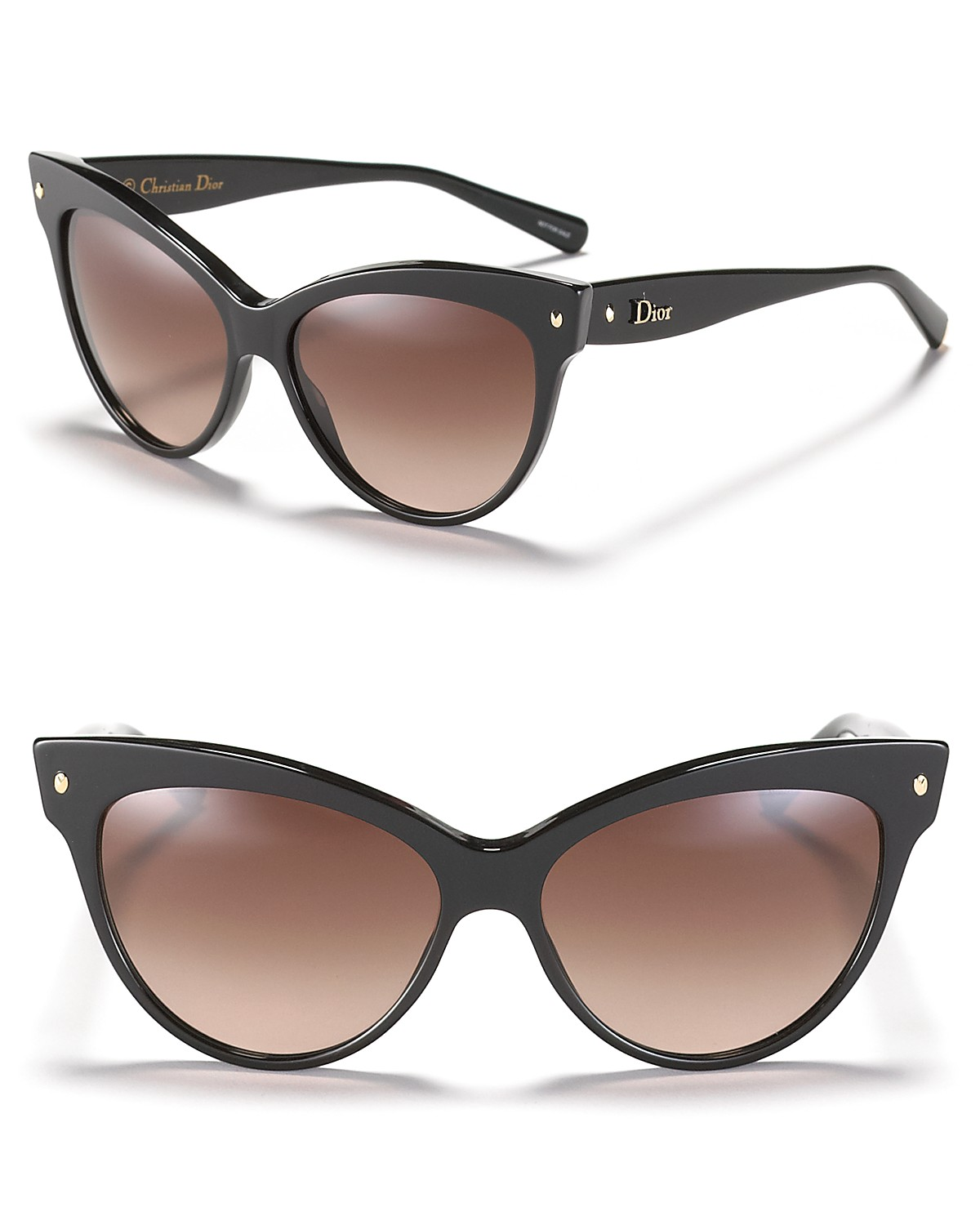 Dior Cat Eye Sunglasses with Logo on Temple | Bloomingdale's