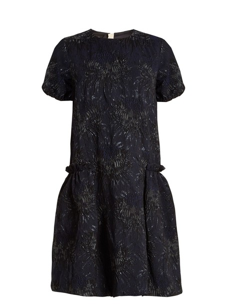 Rochas dress floral navy