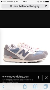 shoes,grey,new balance flint,new balance,flint,sneakersaddict
