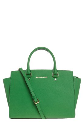 MICHAEL Michael Kors SELMA - Handbag - green - Zalando.co.uk