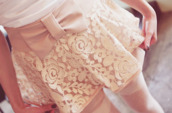 skirt,lace,bow