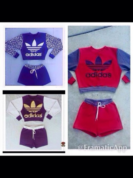 jumpsuit adidas shorts and sweatshirt t outfit