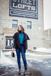 chicityfashion,blogger,coat,sweater,jeans,shoes,bag,jewels
