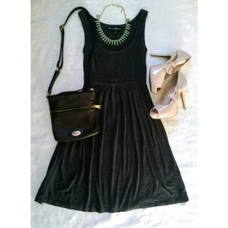 dress charcoal black dress cute dress skater dress party dress cool dress short dress long dress shoes bow dress little black dress
