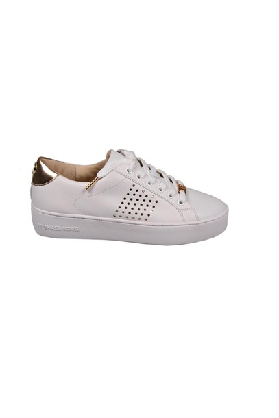 Michael Kors sneakers gold white shoes