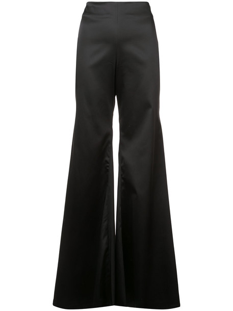HALPERN high women spandex black pants