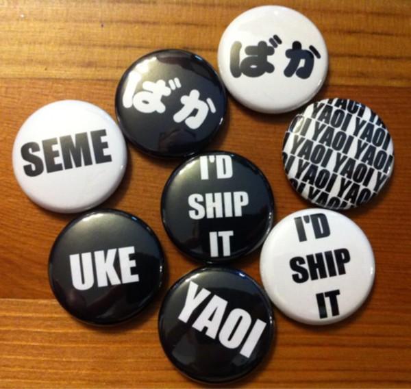 jewels kawaii anime backpack black white buttons kawaii grunge