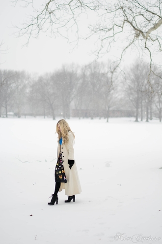 fashion addict blogger winter coat butterfly