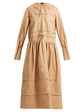 dress leather dress leather beige