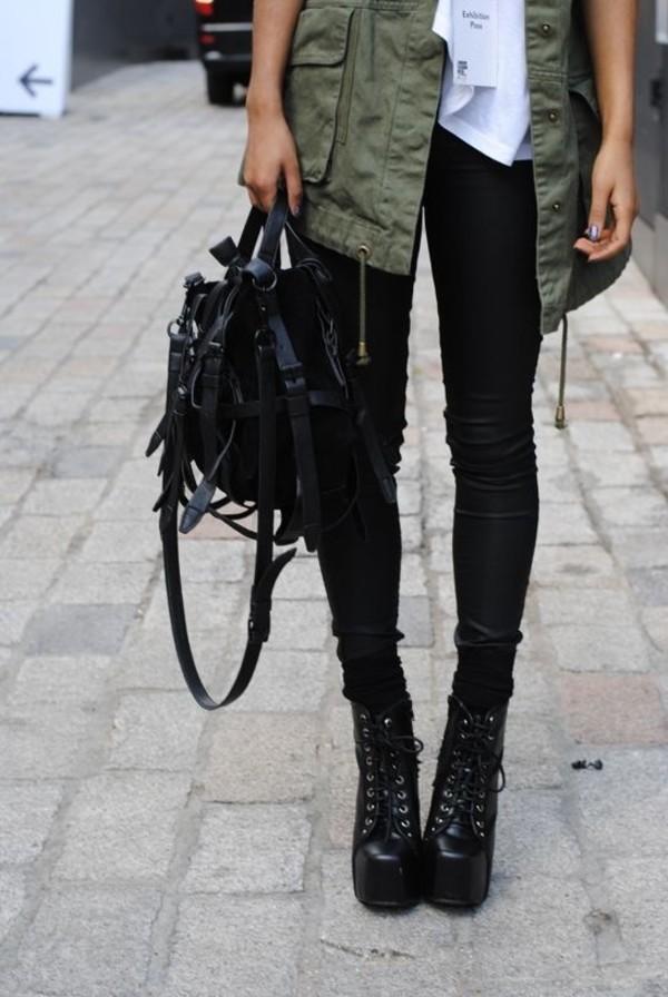 bag clothes luxury brands black bag jacket