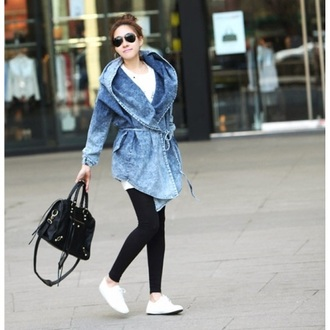 clothes fashion style jacket hoodie cute cardigan fall outfits girly coat denim jacket streetwear