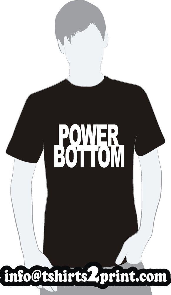 Power Bottom T Shirt as Worn by Louis Tomlinson One Direction Tshirt   eBay
