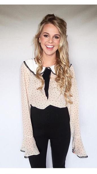 blouse nicole franzel