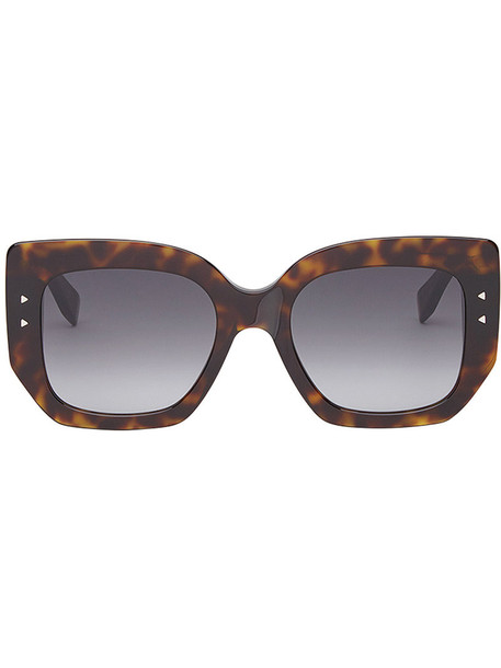 Fendi Eyewear women plastic sunglasses brown