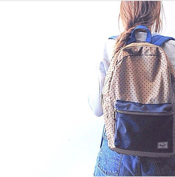 bag dots hipster backpack herschel supply co.