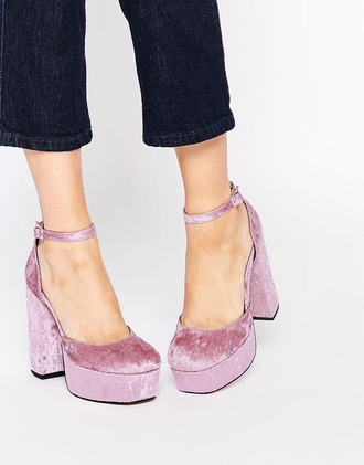 shoes heels 90s style asos platform shoes