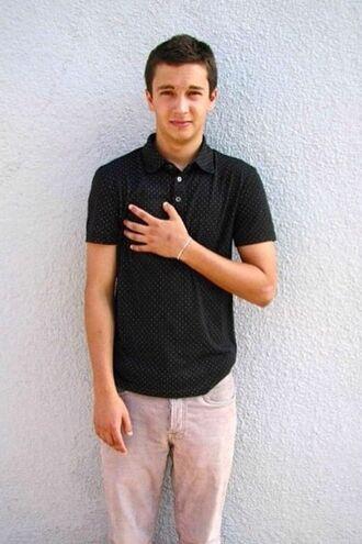 pants tyler joseph celebrity singer black t-shirt mens t-shirt menswear mens pants pink pants polo shirt mens polo