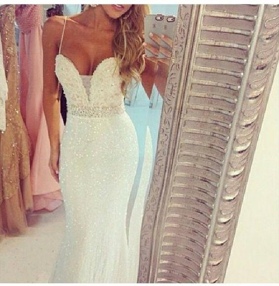 skinny white dress skinny dress long dress party dress prom dress weeding weeding dress classy night