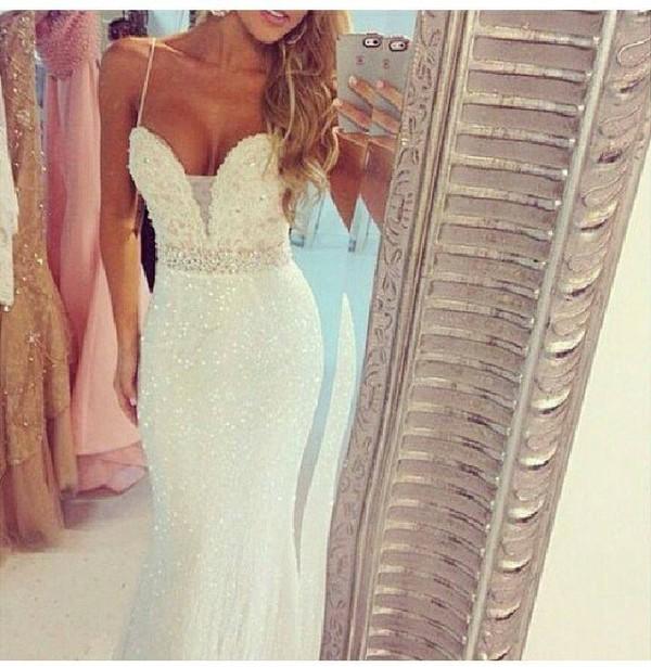 white dress skinny skinny dress long dress party dress prom dress weeding weeding dress classy night