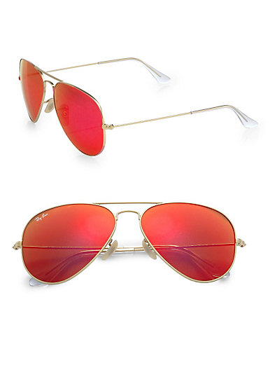 Ray-Ban - Classic Aviator Sunglasses - Saks.com