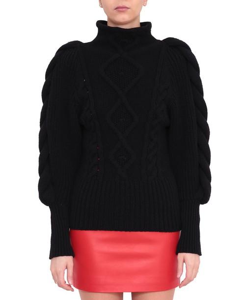 alexandre vauthier sweater wool sweater wool
