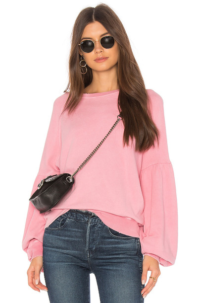 The Great sweatshirt pink sweater