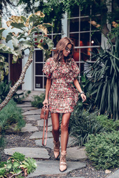 dress,short dress,flroal,floral,floral dress,shoes,sandals,ba,bag,sunglasses