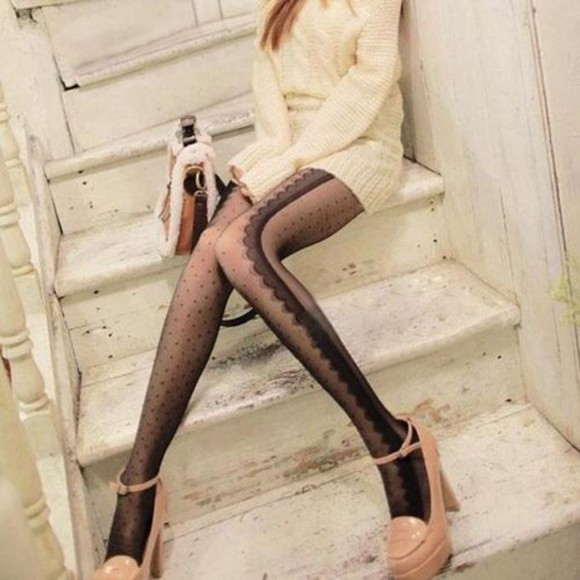 sexy pumps fashion leggings clothes girly tights