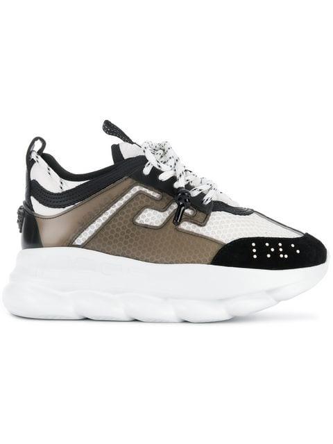 Versace Chain Reaction Sneakers - Farfetch