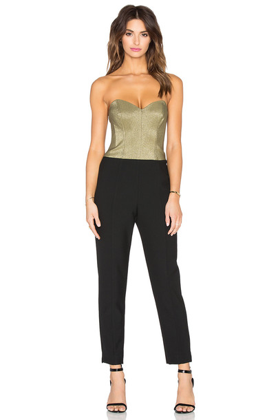 TRINA TURK jumpsuit black