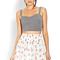 Innocent floral skater skirt | forever21 - 2000088786