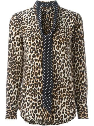 shirt bow women nude silk top